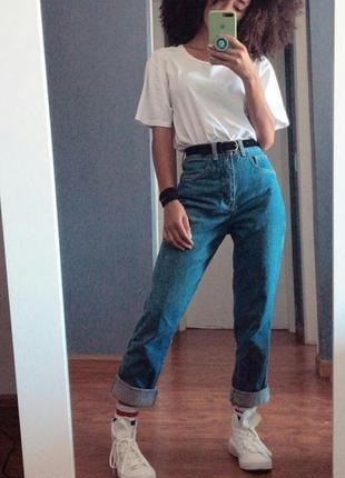 Джинсы женские высокая талия. в стиле american jeans