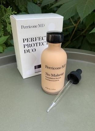 Perricone md no makeup foundation serum перрикон тональный 59мл по цене 30мл