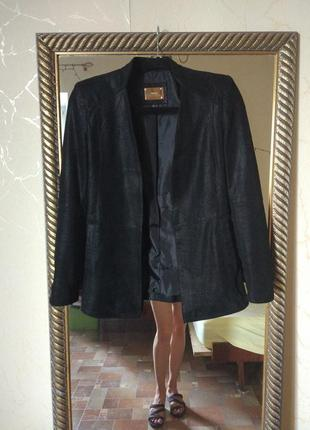 Натуральная 100% кожа пиджак куртка