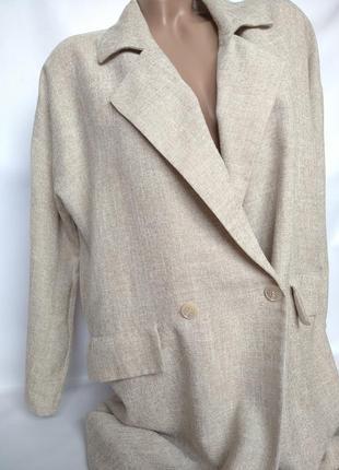 Легкое пальто в стиле оверсайз от vero moda size l