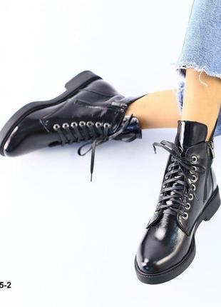 Зимние и демисезонные ботинки кожа, замша,лак