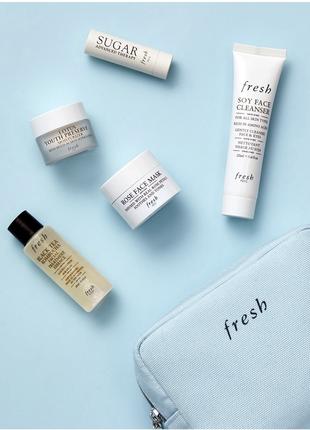 Sale 🔥🔥🔥 набор fresh beauty (умывание,эссенция,скраб,маска,бальзам,крем)
