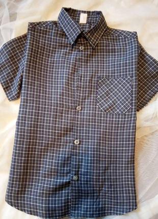 Брендова рубашка сорочка piccolo 128