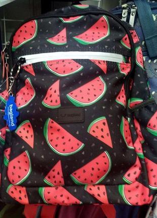 Рюкзак, ранец, городской рюкзак, спортивный рюкзак, арбуз