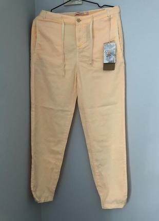 Брюки штани штаны джогеры на резинке джогери на лето літо