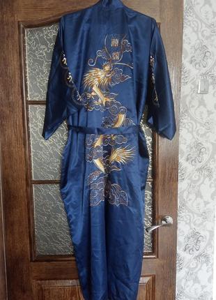 Халат в китайском стиле.