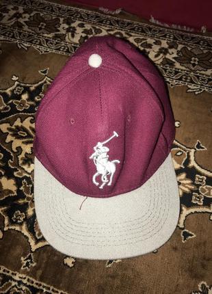 Стильна кепка polo