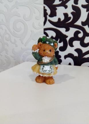 Статуэтка миниатюра мишка