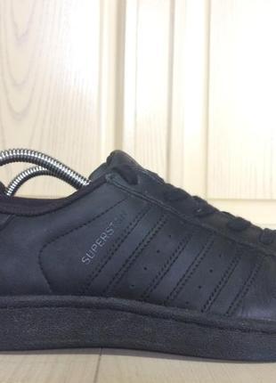 Adidas superstar 🔵кроссовки кожаные