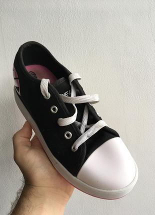 Роликовые кросcовки кеды heelys