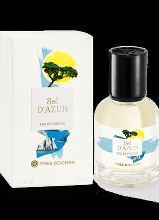 Скидка 70% парфюмированная вода sel d'azur от ив роше yves rocher 30 мл франция