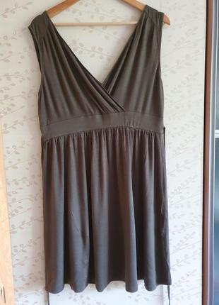 Вискоза платье сарафан yessika р50/52