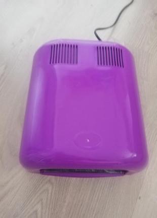 Ультрафиолетовая лампа для полимеризации геля/гель лака с таймером 120 секунд