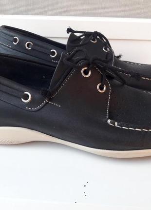 Итальянские кожанные мокасины, туфли prada оригинал р. 38