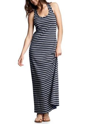Длинное платье zara туника пляжное платье в полоску zara платье в пол на пляж