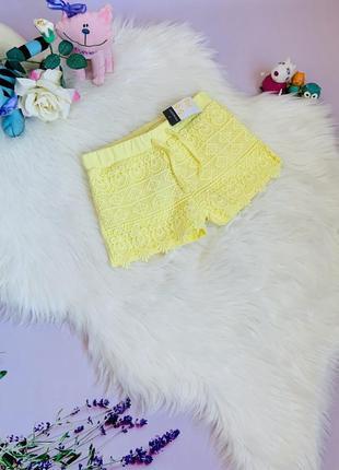 Новые шорты primark малышке 5-6 лет