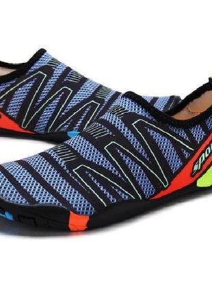 Обувь для пляжа и кораллов diving shoes коралки 36 размер (23 см)