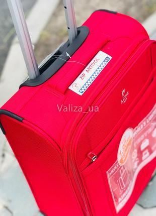 Ультра легкий чемодан тканевый для ручной клади текстильный маленький чемодан франция5 фото