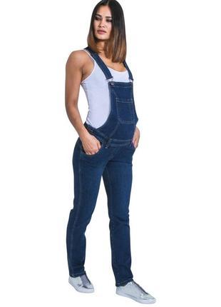 Jojo maman bebe  джинсы комбенизон для беременных размер 18 (наш 52-54)