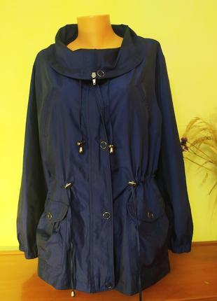 Красивая куртка-ветровка, большой размер debenhams