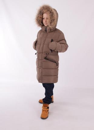Зимове пальто напів пальто куртка  snowimage для хлопця