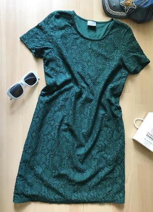 Платье с кружевом vero moda