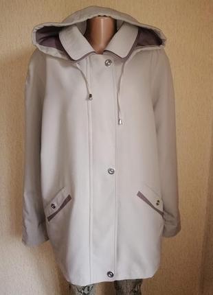 Стильная женская демисезонная куртка 18 р. finesse