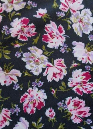 Ткань для шитья: трикотаж цветы, германия