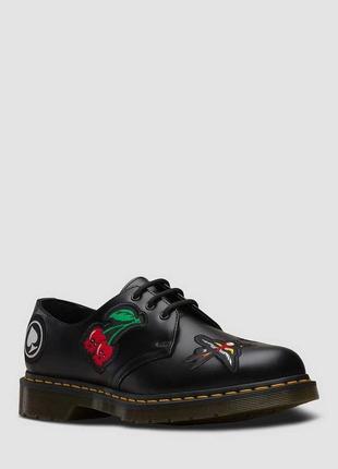 Туфлі dr. martens 1461 patch чорні