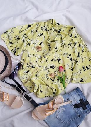Знижка тільки сьогодні 🔥чудова блуза лимонного кольору від eksept