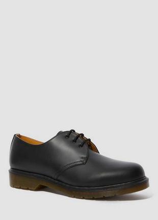 Туфлі dr. martens 1461 plain welt smooth leather oxford shoes чорні