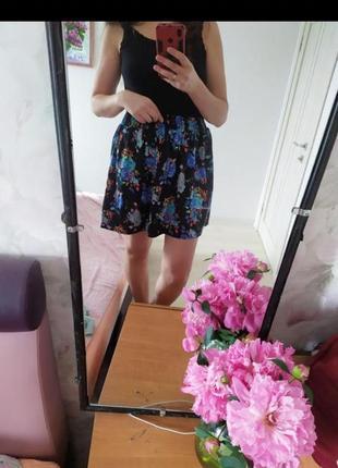 Цветочная летняя юбка