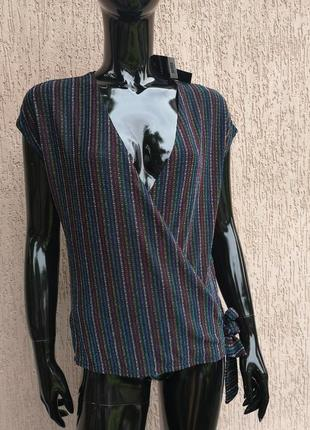 Новая блестящая блуза peacocks