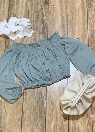 Топ , блуза укорочённая h&m