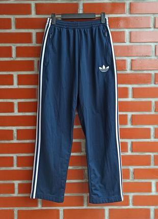 Adidas originals синие спортивные штаны размер s