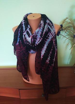 Красивый супер-лёгкий шарф от  george