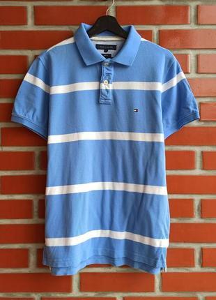 Tommy hilfiger футболка поло размер l