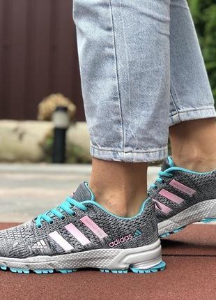 Женские кроссовки adidas marathon адидас весна осень лето