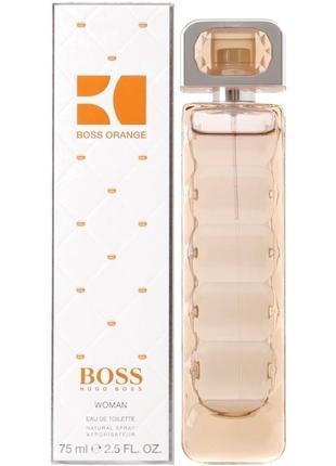 Туалетна вода hugo boss orange woman edt spray 75 мл