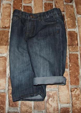 Шорты джинсовые мальчику 8 - 9 лет denim co