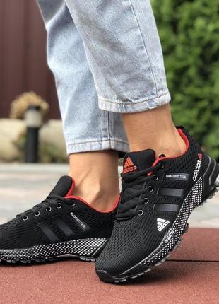 Adidas marathon tr 26 чорні кросівки жіночі
