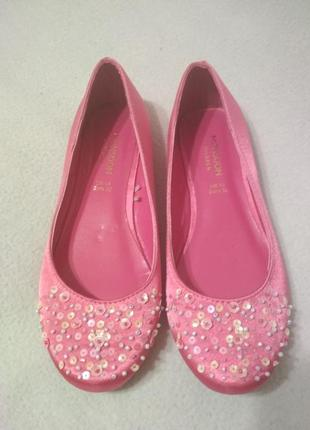 Супер стильные атласные туфли, балетки с декором 🎆💥