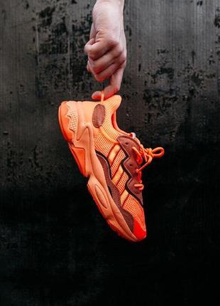 """Кроссовки adidas ozweego """"orange"""" оранжевые 36-40 )"""