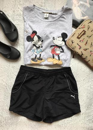 Короткие спортивные шорты /puma/размер s
