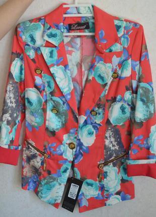 Продам новый красный пиджак с бирками