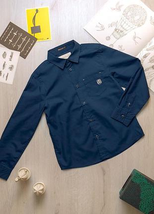 Стильная подростковая рубашка для мальчика piazza italia италия
