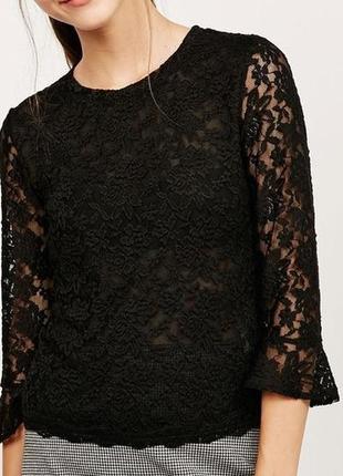 Блуза кружево, гипюр, оригинал, новое