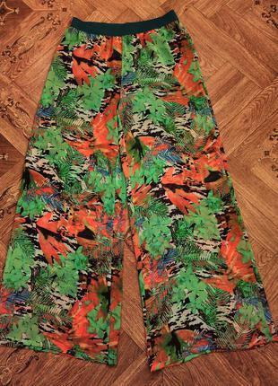 Шифоновые юбка-брюки