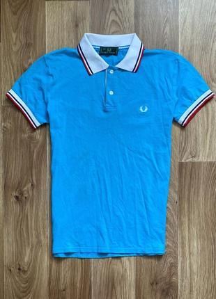Fred perry - поло / рубашка с воротником / размер м-l