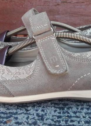 Комбинированные кожаные спортивные туфли medicus германия 7 g(41)